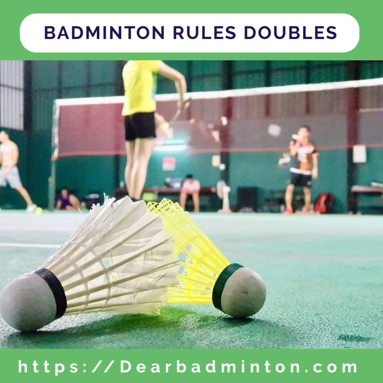 Badminton Rules Doubles | Court, Serving, Scoring & Strategy