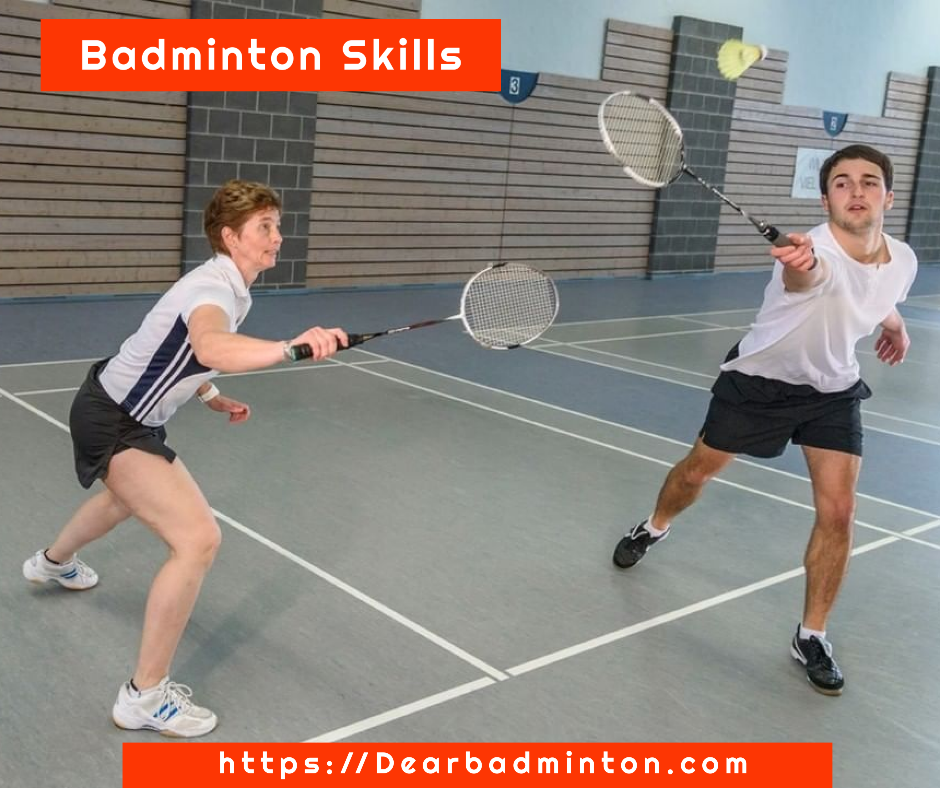 Badminton skills and tactics to play