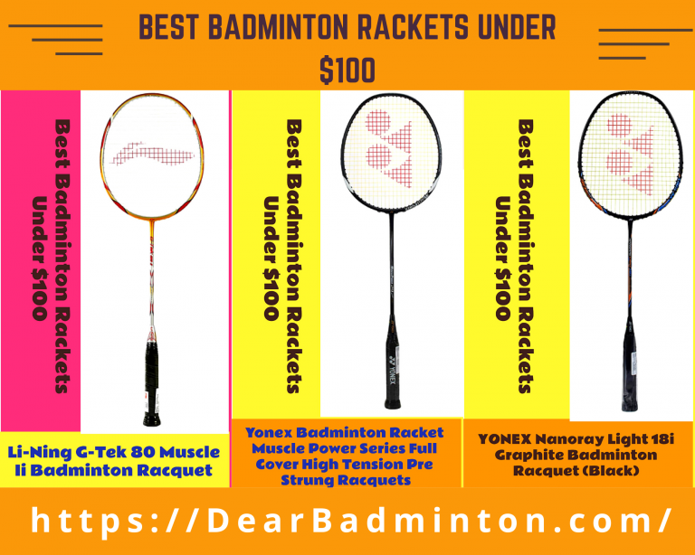 Best Badminton Rackets under $100 | Reviews & Buyers Guide