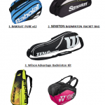 best badminton kit bags 2020