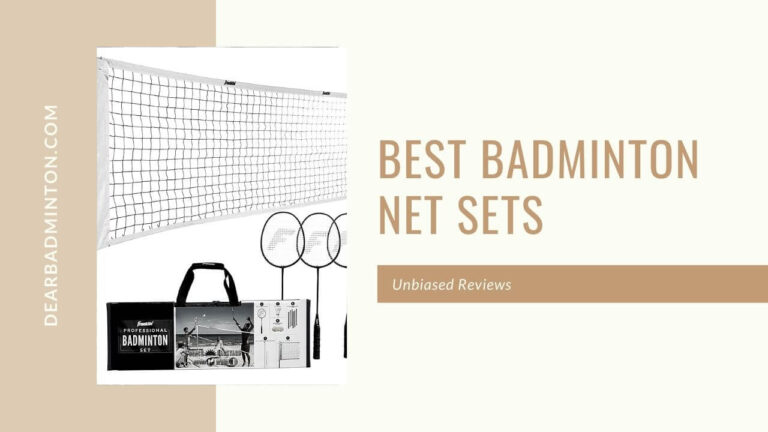 Best Badminton Net Sets For You in 2021