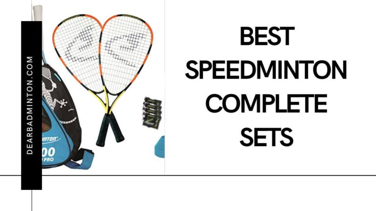 Top 5 Best Speedminton Complete Sets For 2021