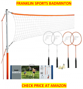 Franklin Sports, Best Badminton Net Sets 2020