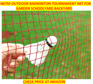 NKTM Outdoor Best Badminton Net Sets 2020