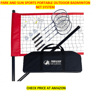 Park and Sun Best Badminton Net Sets 2020